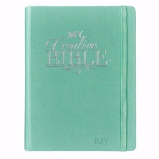 KJV My Creative Bible-Luxleather Hardcover-Teal by Christian Art