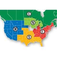 Lowrance MSD/HMPT-E6 HotMaps Platinum Lake Maps - East