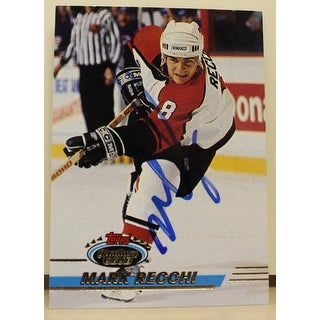 Mark Recchi Philadelphia Flyers Autographed 1993-94 Stadium Club Card