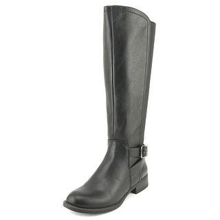 Nine West Leonore Round Toe Synthetic Knee High Boot|https://ak1.ostkcdn.com/images/products/is/images/direct/b49b4aa8239a5dca9bf9978b53bcc50a218dc1d4/Nine-West-Leonore-Round-Toe-Synthetic-Knee-High-Boot.jpg?impolicy=medium