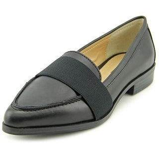 BCBGeneration Jo Round Toe Leather Loafer