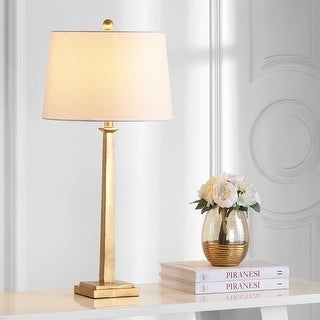 Link to Safavieh Lighting 32-inch Andino Gold Table Lamp (Set of 2) Similar Items in Table Lamps
