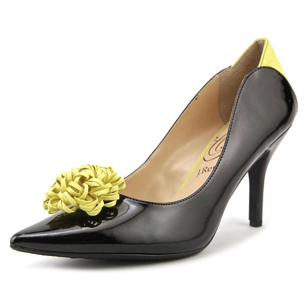 J. Renee Ranita Women Black/Yellow Pumps