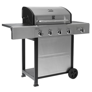 Link to Kenmore 4 Burner plus Side Burner with Stainless Steel Similar Items in Grills & Outdoor Cooking