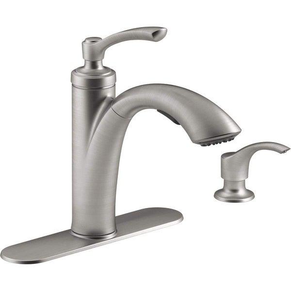 Shop Kohler R29670 Sd Vs Linwood Pull Out Kitchen Faucet W