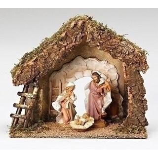 "Fontanini 7.5"" Religious Inspirational Nativity Village Italian Stable #50850"