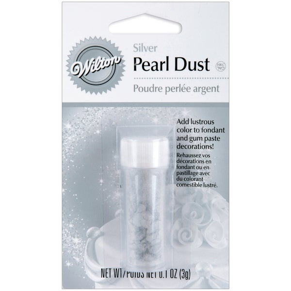 Pearl Dust 3g-Silver - Silver