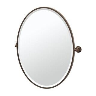 "Gatco 4349F Tiara 24-1/4""W X 27-1/2""H Wall-Mounted Framed Oval Mirror"