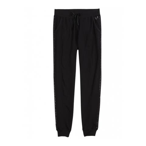Justice Girls Studded Jogger Athletic Sweatpants