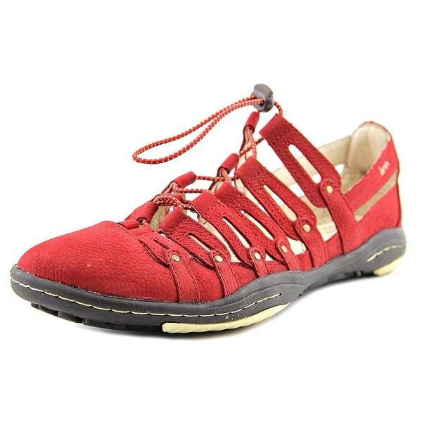 Jambu El Dorado Women Round Toe Synthetic Red Sneakers