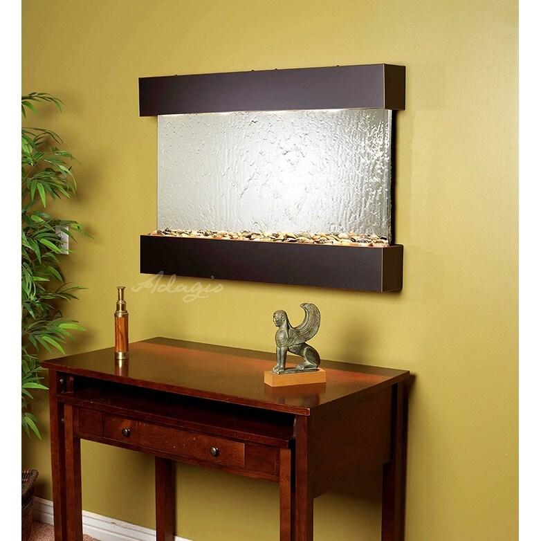 Adagio Reflection Creek With Bronze Mirror in Blackened Copper Finish Fountain - Thumbnail 0
