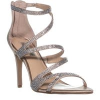I35 Regann2 Strappy Evening Sandals, Bisque