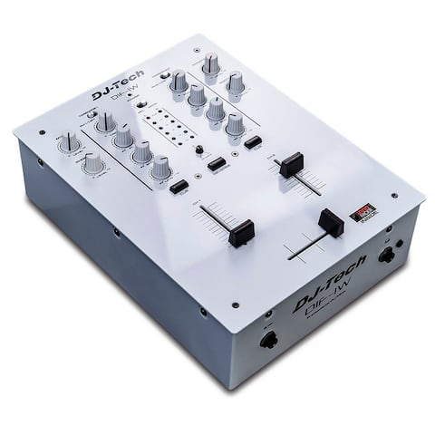 Djtech Inno Fader Mixer White Color