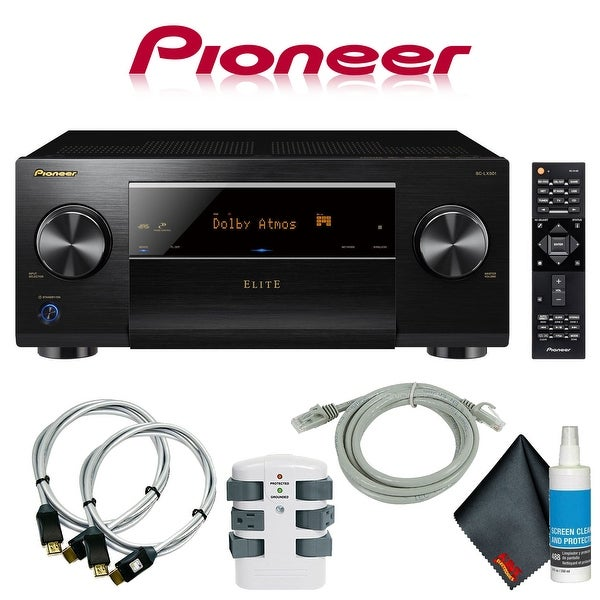 Pioneer Elite SC-LX501 7.2-Channel A/V Receiver + Accessories
