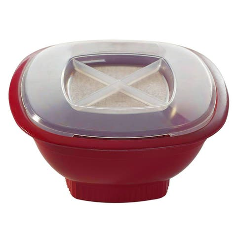 Nordic Ware Microwave Popcorn Popper, Red