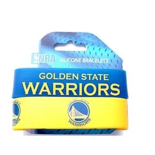 Golden State Warriors Rubber Wrist Band (Set of 2) NBA