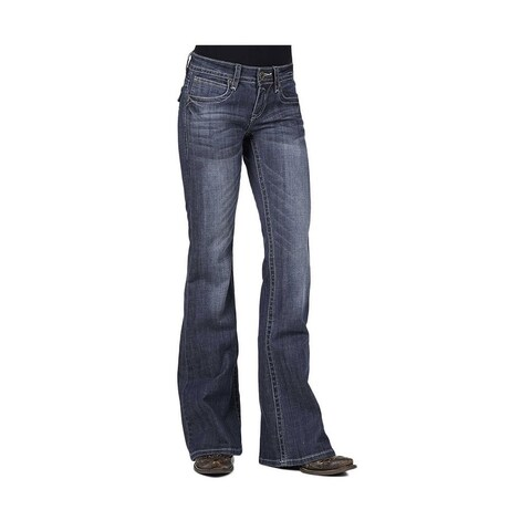 Stetson Western Denim Jeans Womens 816 Royal