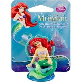 "Ariel On Shell Throne 2"" High - Disney The Little Mermaid Aquarium Ornament"