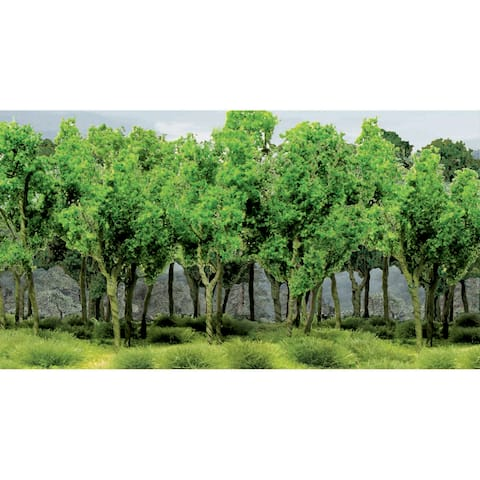 "Woods Edge Trees 3"" To 3.5"" 9/Pkg-"