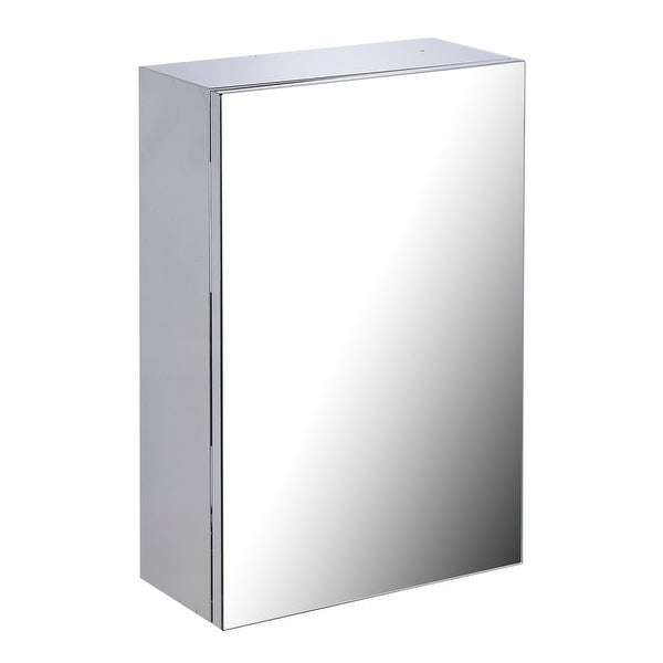 Shop 22 Quot Stainless Steel Medicine Cabinet Mirror Wall