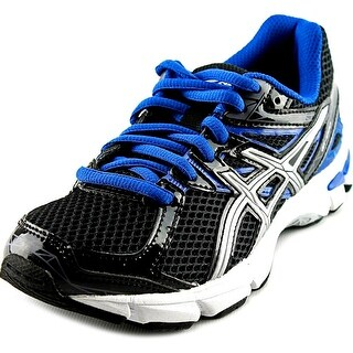 Asics GT-1000 3 Youth W Round Toe Synthetic Black Running Shoe