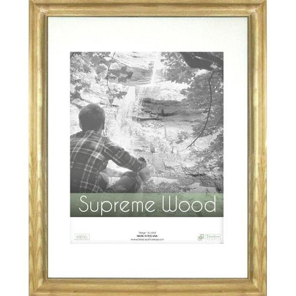 Timeless Frames Supreme Woods Natural Wall Frame, 12 x 16 in. - Free ...