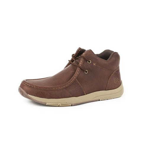 Roper Casual Shoes Mens Clearcut Lace Brown