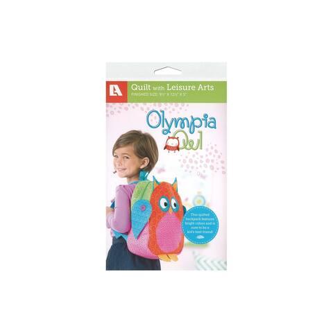 Leisure Arts Olympia Owl Backpack Ptrn