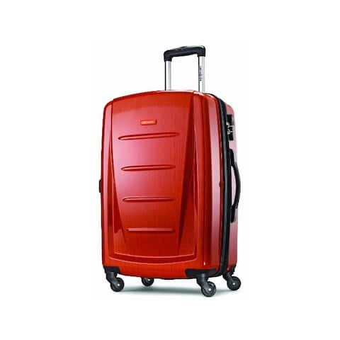 Samsonite Winfield 2 Hardside Expandable Luggage with Spinner Wheels, - Checked-Medium 24-Inch