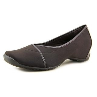 Easy Street Glacier N/S Square Toe Canvas Flats