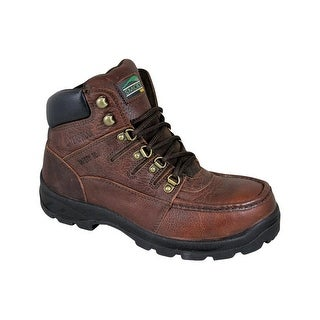 Smoky Mountain Boots Work Mens Dixon Waterproof EH Rated Brown