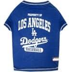 MLB Los Angeles Dodgers Pet Tee Shirt