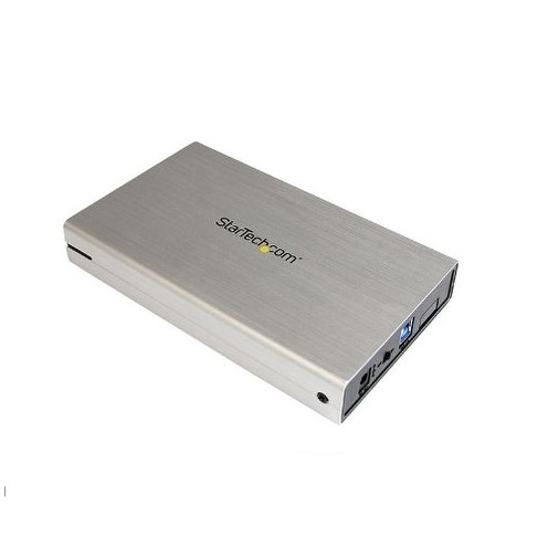 Startech - S3510smu33 3.5In Usb 3.0 External Sata Iiinssd Hdd Enclosure With Uasp
