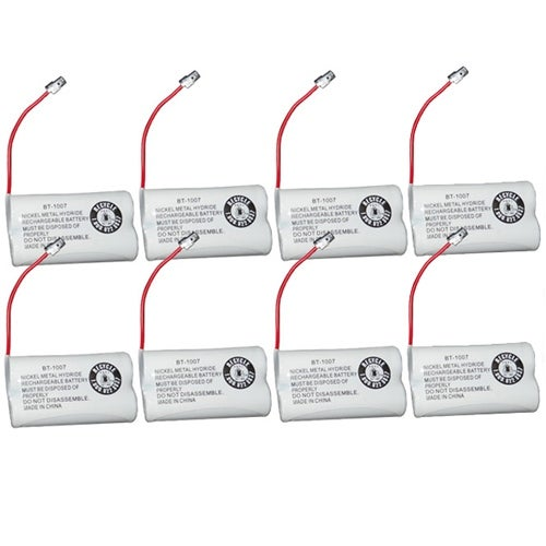 Replacement BT1007 (TL26602) Battery For Uniden DECT1880-8 / DECT1888-3 Phone Models (8 Pack)