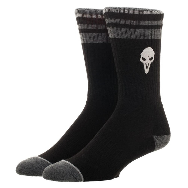 Overwatch Men's Reaper Embroidered Crew Sock