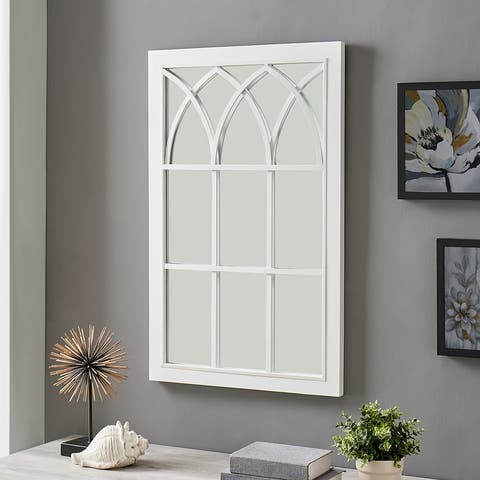 FirsTime & Co.® Grandview Arched Farmhouse Window Mirror, Wood, 24 x 2 x 37.5 in, American Designed - 24 x 2 x 37.5 in