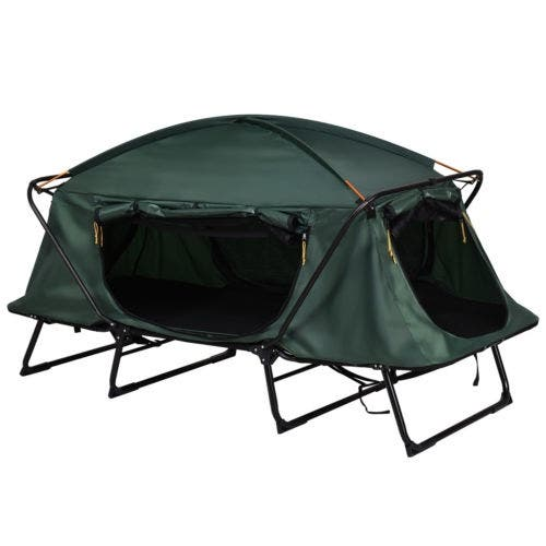 de344d17cc Costway Hiking Outdoor Folding 1 Person Waterproof Elevated Camping Tent w/ Carrying  Bag