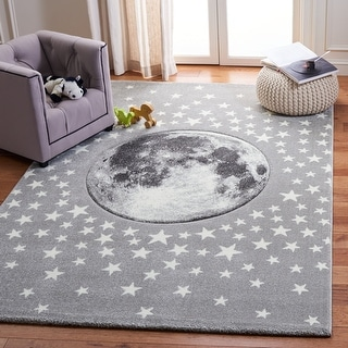Link to Safavieh Carousel Kids Aine Moon Rug Similar Items in Rugs