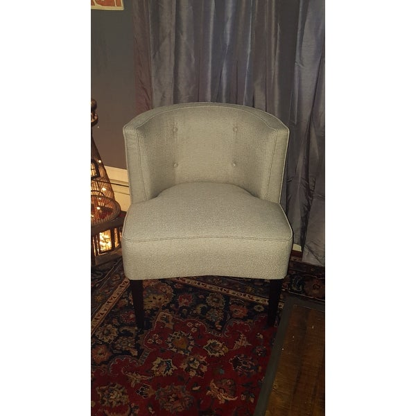 Delightful Maison Rouge Sierra Off White Accent Chair   Free Shipping Today    Overstock   17248167