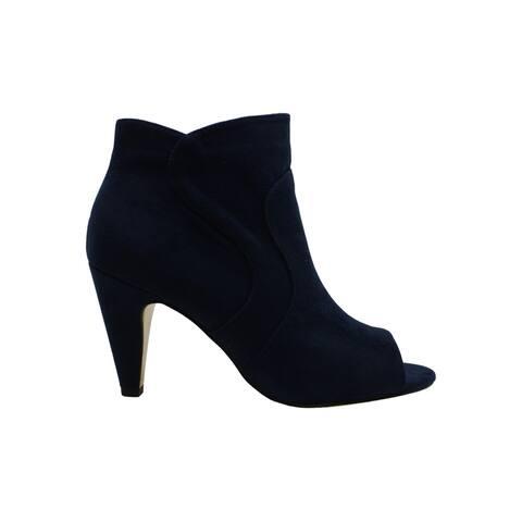 Bella Vita Women's Shoes Noah Ii Suede Peep Toe Ankle Fashion Boots