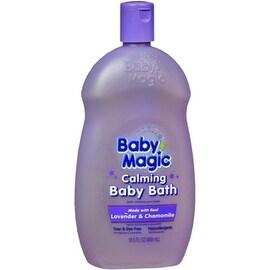 Baby Magic Calming Baby Bath Lavender and Chamomile 16.50 oz