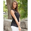 Fashion Women Summer Vest Top Sleeveless Blouse Casual Tank Tops T-Shirt Lace - Thumbnail 1