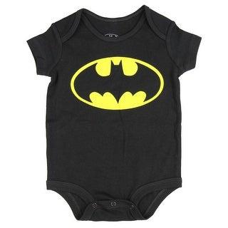 DC Comics Batman Logo Baby Onesie Romper