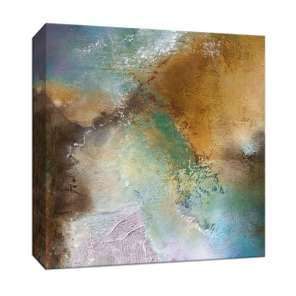 """PTM Images 9-147121 PTM Canvas Collection 12"""" x 12"""" - """"Moonstone III"""" Giclee Abstract Art Print on Canvas"""