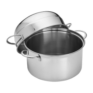 Shop Demeyere Resto 1 2 Qt Stainless Steel Tall Saucepan