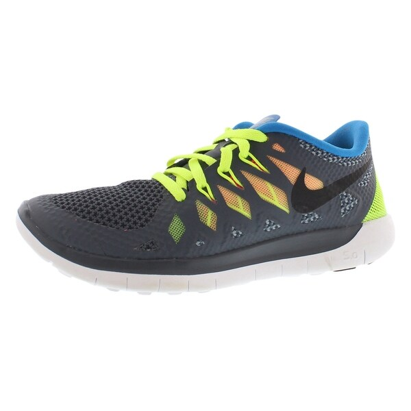a4039e2f3a62 Shop Nike Free 5.0 Running Gradeschool Boy s Shoes - 4.5 Big Kid M ...