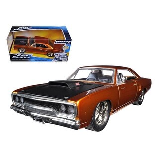 Dom\'s 1970 Plymouth Road Runner Copper Fast & Furious 7 Movie 1/24 Diecast Model Car by Jada