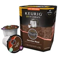 Keurig 114687 Tully's Hawaiian Blend Coffee K-Cup Carafe, 8-Count