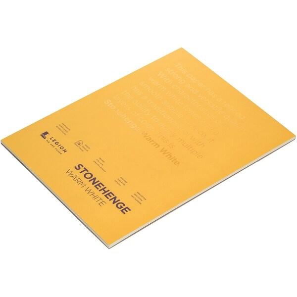 Shop Stonehenge Paper Pad 11 Quot X14 Quot 15 Sheets Pkg Warm White