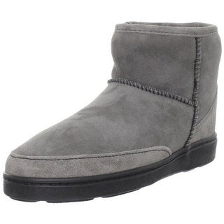 Minnetonka Womens Sheepskin Moccasin Ankle Boots